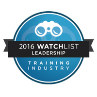 Winner of 2016 watchlist training Industry award