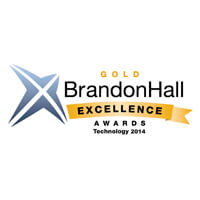Gold Brandon Hall excellence award, 2014