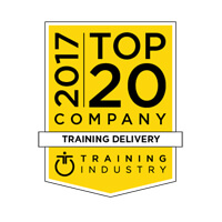 Top 20 Company in Training Industry, 2017