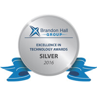 Silver  Brandon Hall excellence award, 2016
