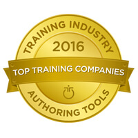 Training Industry award for Authoring Tools, 2016