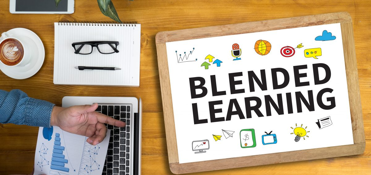 blended learning approach, blended learning environment