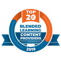 Top 20 Blended Learning Content Providers by the eLearning Industry, 2019