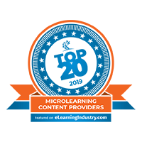 Top 20 Microlearning Content Providers by the eLearning Industry, 2019
