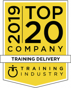 2019 Top 20 Training Delivery Companies by Training Industry, 2019