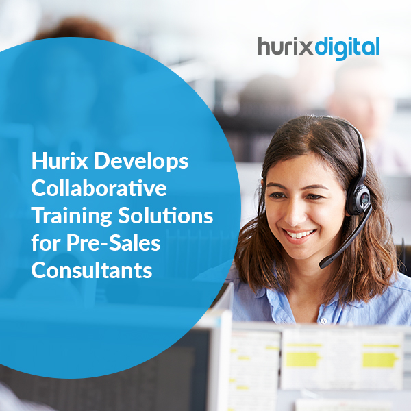 pre-sales case study from hurixdigital cover