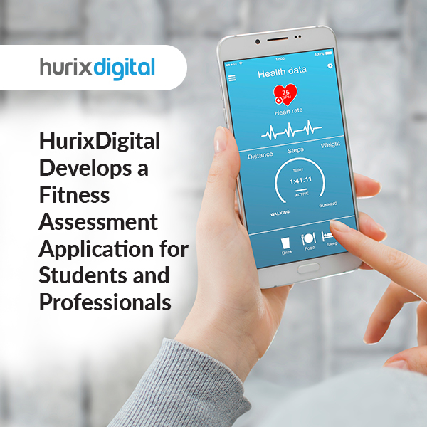 HurixDigital Develops a Fitness Assessment Application for Students & Professionals
